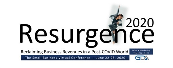GDA announces Resurgence 2020: Reclaiming Business Revenues in a Post-COVID World virtual conference